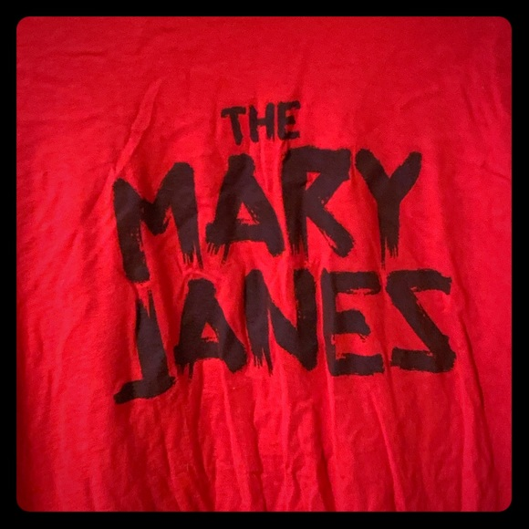 """Other - Spider-Gwen """"The Mary Janes"""" band T-shirt, XXL"""